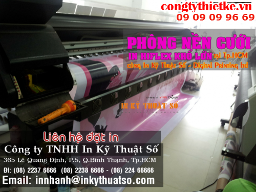 Lien he Cong ty TNHH In Ky Thuat So - Digital Printing